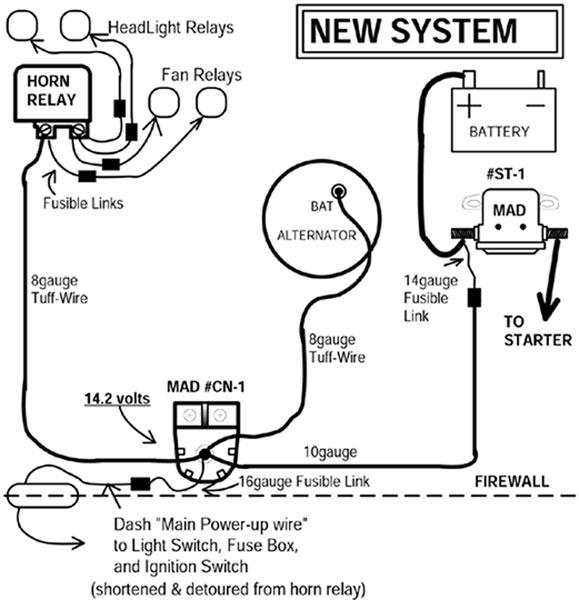 Catalog  Wire Alternator Wiring Diagram Mopar on